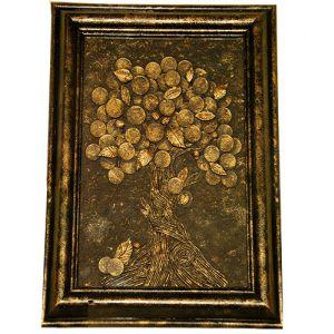 Декаротивное панно «Денежное дерево»