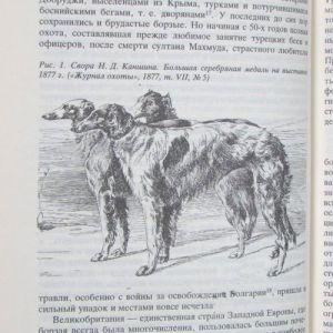 Собаки охотничьи… Борзые и гончие /Сабанеев Л. П./